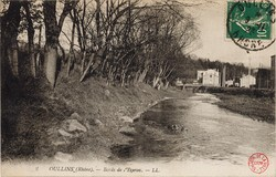 Oullins (Rhône) : Bords de l'Yzeron