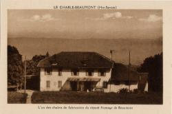 Le Chable-Beaumont (Hte-Savoie) : L'un des chalets de fabrication du réputé fromage de Beaumont