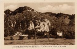 Le Chable-Beaumont (Hte-Savoie) : L'Abbaye de Pomier et la Salève