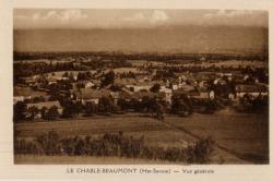 Le Chable-Beaumont (Hte-Savoie) : Vue générale