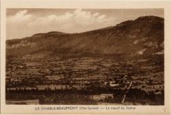 Le Chable-Beaumont (Hte-Savoie) : Le massif du Salève