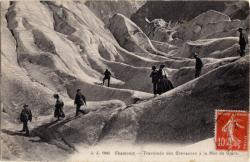 Chamonix : traversée des Crevasses à la Mer de Glace