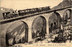 Chamonix : chemin de fer du Montenvers