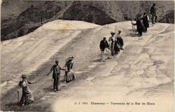 Chamonix : traversée de la Mer de Glace