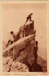 Chamonix : Sommet de l'Aiguille de l'M (2.844 m.)