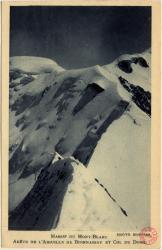Massif du Mont-Blanc : Arête de l'Aiguille de Bionnassay et Col du Dome