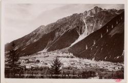 Chamonix-Mont-Blanc : Vue générale et le Brévent