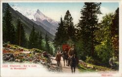Chamonix : Sur la route du Montanvert