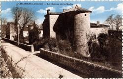 Chassiers (Ardèche) : La Château de la Mothe