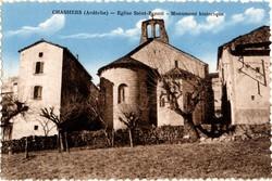 Chassiers (Ardèche) : Eglise Saint-Benoît