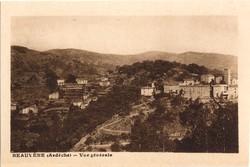 Beauvène (Ardèche) : Vue générale
