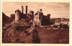 Le Château de Boulogne (Ardèche)