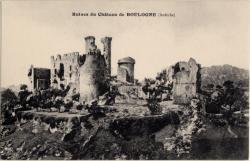 Ruines du Château de Boulogne (Ardèche)