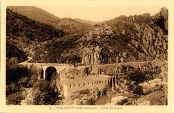 Chalençon (Ardèche) : Usine électrique