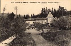 Chalençon (Ardèche) : Comberon près Chalençon et Route de Vernoux