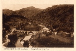 Chalençon (Ardèche) : Vue générale