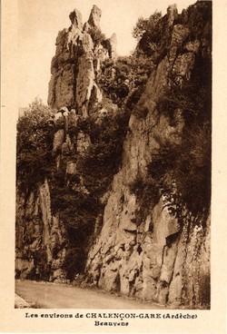 Chalençon (Ardèche) : Beauvène