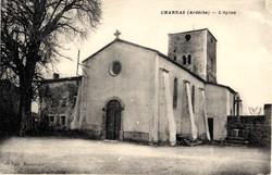 Charnas (Ardèche) : L'Eglise