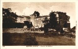 Boffres (Ardèche) : Château de Cachard