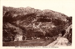 Environs de Burzet (Ardèche) : Hameau de Chastagnas