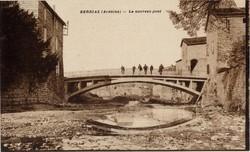 Berrias (Ardèche) : Le nouveau pont