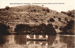Le Chassezac au moulin Chaulet, près de Casteljau (Ardèche)