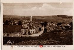 Le Béage (Ardèche), alt. 1200 m. - Séjour d'été - Vue Générale N.-E.