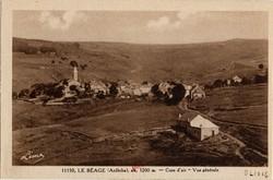 Le Béage (Ardèche), alt. 1200 m. - Cure d'air - Vue générale