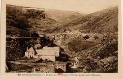 Le Béage (Ardèche) : Le Pont de la Véradeyre