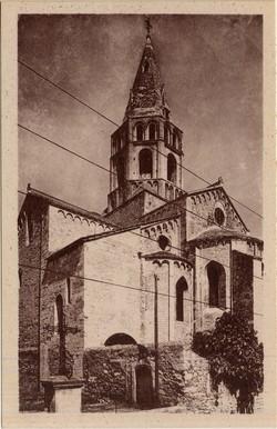 Bourg-Saint-Andéol (Ardèche) : L'Abside de l'Eglise