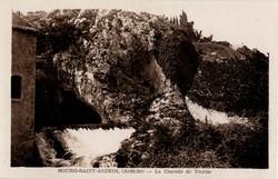 Bourg-Saint-Andéol (Ardèche) : La Cascade de Tourne