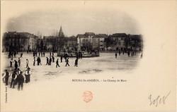 Bourg-Saint-Andéol (Ardèche) : Le Champ de Mars
