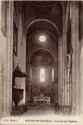 Bourg-Saint-Andéol (Ardèche) : La nef de l'Eglise