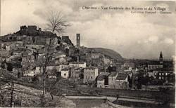 Charmes-sur-Rhône (Ardèche) : Vue générale