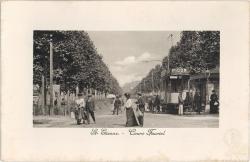 Saint-Étienne (Loire) : Cours Fauriel