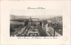 Saint-Étienne (Loire) : Panorama de Saint-Étienne