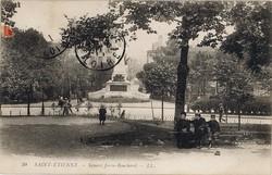 Saint-Étienne (Loire) : Square Jovin-Bouchard