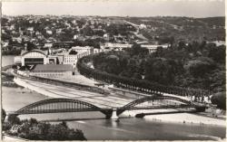 Lyon : Pont de la Boucle ; Palais de la Foire et des Congrès