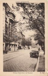 Lyon Artistique : Clinique Sainte-Anne, rue Duquesne