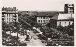 Lyon : Lycée du Parc ; Carrefour des Boulevards des Belges et Anatole France