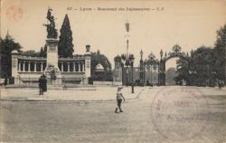 Lyon : Monument des Légionnaires