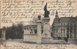 Lyon : Entrée du Parc de la Tête d'Or - Monument des Enfants du Rhône