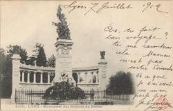 Lyon : Monument des Enfants du Rhône