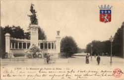 Lyon : Le Monument des Enfants du Rhône