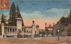 Lyon : Le Monument des Enfants du Rhône et Entrée du Parc