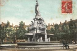 Lyon : La Place Morand