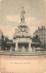 Lyon : Monument de la Ville de Lyon