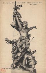 Lyon : Monument des Mobiles et Légionnaires du Rhône, par Pagny