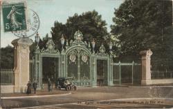 Lyon : L'Entrée principale du Parc de la Tête d'Or