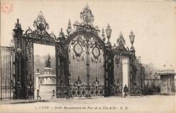 Lyon : Grille Monumentale du Parc de la Tête-d'Or